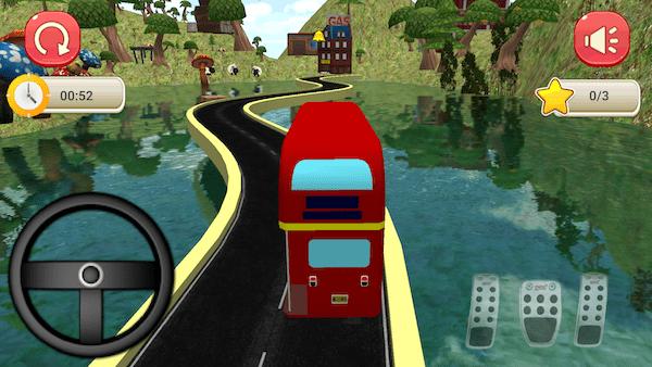 Bus Simulator Rennen Spiele App Android Smartphone Screenshot