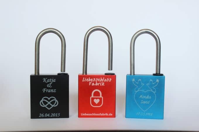 Liebeschlossfabrik-Produkte