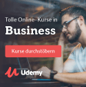 Top Business Kurse bei Udemy
